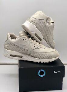 "Rare Nike Air Max 90 "" Woven Phantom "" Size UK 11 Jordan / LeBron"