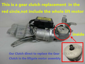 A Clutch Gear Assy for Chevy/GMC/CADILLAC Rear Actuator Liftgate/Trunk Lid Motor