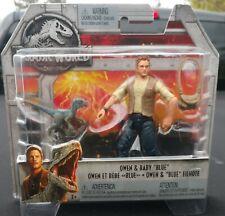 "Jurassic World Fallen Kingdom Mattel OWEN & BABY ""BLUE"""