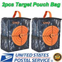 2x Target Pouch Darts Bullet Storage Equipment Bag for Nerf Kid Strike Toy Gun