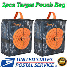 2x Target Pouch Darts Bullet Storage Equipment Bag for Kid Strike Toy Gun