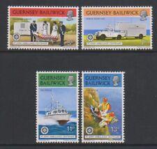 Guernesey - 1977, st John Ambulance Ensemble - MNH - Sg 157/60