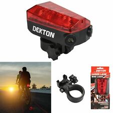 LED Laser Lane Bike Light Bicycle Safety Night High Visibility Cycle Projection