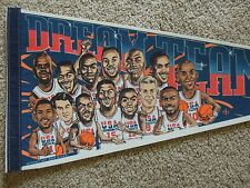 1996 Dream Team II Olympic Basketball Full Size 30 Inch Pennant With Shaq