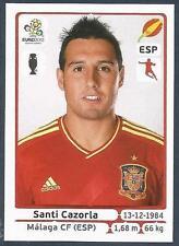 PANINI EURO 2012- #300-ESPANA-SPAIN-MALAGA-SANTI CAZORLA