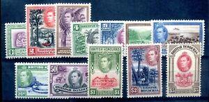 British Honduras 1938 defin set clean MLH