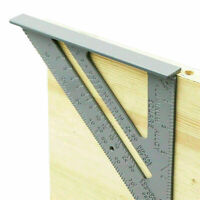 "New 7"" Aluminium Roofing Roofer Square Carpenters Wood Working 7 Inch Alloy Tool"
