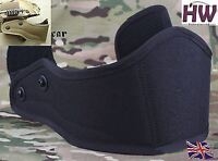 AIRSOFT CORE OPS MICH AF TACTICAL HELMET FRONT GUARD PROTECTOR BLACK SWAT