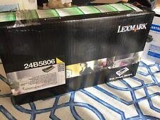 Genuine Lexmark 24B5806 Yellow Hi Yield Return Toner Cartridge  NEW OEM SEALED
