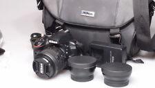 NIKON D3300 24.2MP DIGITAL SLR CAMERA W/18-55mm NIKKOR ZOOM AND MORE L@@K