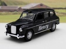 PERSONALISED NAME Gift Black London TAXI CAB Boy Dad Toy Car Model Present Box