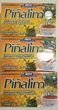 3 PACK Te Pinalim Tea GN+Vida ENVIO GRATIS 90 days Pinalim Pineapple Diet