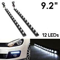 2x 12 LED Daytime Running Lights DRL Fog Lamp For VW Volkswagen Golf Passat Polo