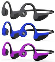Bone Conduction Bluetooth 5.0 Open-Ear Headphones Sweat-proof Lightweight 1.2 oz