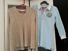 2 NEXT TOPS JUMPER & POLO TOP -  8/10 VERY GOOD CONDITION