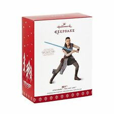 Hallmark Keepsake 2017 Star Wars: The Last Jedi Christmas Ornament   #1 REY