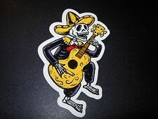 """Pearl Jam Sticker Jeff Ament Muerto Halloween 4"""" tour concert merch gig cd lp"""