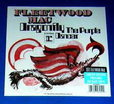 "FLEETWOOD MAC, Dragonfly / The Purple Dancer, 7"" BLUE Vinyl , SEALED,Ltd Edition"