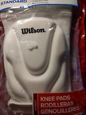 Wilson Standard Volleyball Knee Pads Size Adult WHT2500 WHT 2500 NWE
