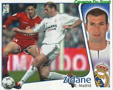 ZINEDINE ZIDANE FRANCE REAL MADRID CROMO STICKER LIGA ESTE 2005 PANINI