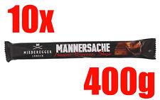 10x NIEDEREGGER MÄNNERSACHE Nougat Espresso Shot Stick 40g - 400g insgesamt