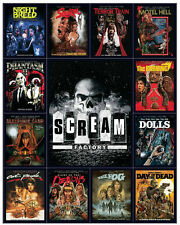 Scream Shout Factory Horror 2014 Magnet Set Promo Only RARE SEALED