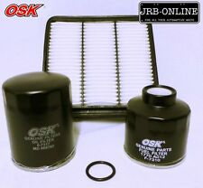 ML MN MITSUBISHI TRITON DIESEL 2.5L 4D56 OIL AIR FUEL FILTER SERVICE KIT 08-ON