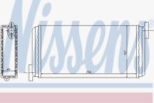 Wärmetauscher Innenraumheizung - Nissens 72002