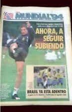 65a2e1c12 FIFA WORLD CUP 1994 - CANIGGIA - Clarin Newspaper Argentina