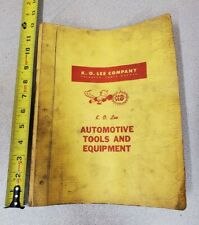 Vintage K.O. LEE Company Auto Tools & Equipment Jobber Book 1974