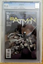 BATMAN #1 CGC 9.6 WHITE PAGES 1ST PRINT! NEW 52/2011! SNYDER/CAPULLO DARK KNIGHT