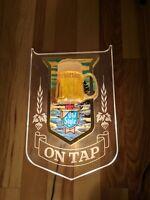 Vintage Heilemans Old Style Beer On Tap Bubbler Bar Sign Mug