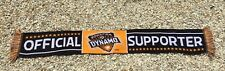 "Houston Dynamo OFFICIAL SUPPORTER Soccer Scarf ""Stand With Us"" MLS Soccer Scarf"