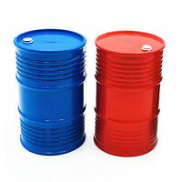 Plastic Oil Barrel Box Cover Part for 1/10 SCX10 90046 TRX4 D90 RC Climbing Cars