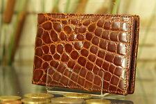 """KRALLE"" Geldbeutel/Portemonnaie Krokodils-Leder. Wallet, crocodile, NEW! 1636"
