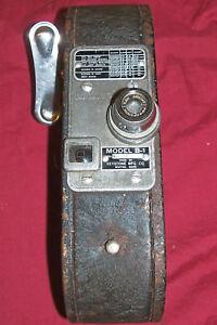 Old Keystone Mfg Co 16mm Movie Camera Model B-1 16 mm Vintage Film Antique Army