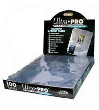 Ultra Pro Platinum A4 Trading Card 9-Pocket Pages/Sleeves 10 - 100 Yugioh, MTG