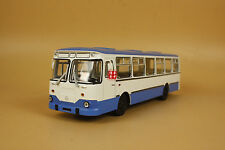 1/43 Russian Ussr Bus Liaz 677M 677 M bus diecast model car BLUE color