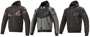 Alpinestars Sector v2 Men's Biker Jacket Hoodie Hooded Jacket with Protectors