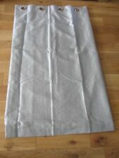 """SILVER PAIR OF CURTAINS 54"""" 137cm DROP x 65"""" 165cm WIDTH LINED GREY"""