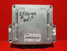 RENAULT LAGUNA 2 1.9 DCI CALCULATEUR MOTEUR ECU REF HOM 8200048297 0281010297