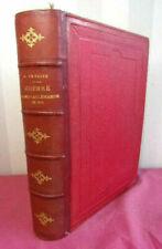 Livres anciens et de collection XIXème, sur guerre et militaire, en allemand