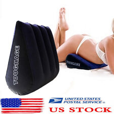 Toughage Amazing Sex Pillow Triangle Wedge Soft Inflatable Portable USA STOCK