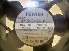 """Middle Atlantic 4 1/2"""" Rack Fan 4715MS-12T-B40 New in original packaging! (43D)"""