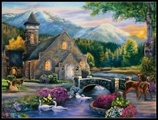 Beside Still Waters - Chart Counted Cross Stitch Pattern Needlework Xstitch DIY