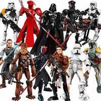 Star Wars Darth Vader Maul Luke Skywalker Storm Trooper Toys Action Figures