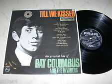 RAY COLUMBUS AND THE INVADERS Till We Kissed *RARE NEW ZEALAND 1st PRESS 60s LP*