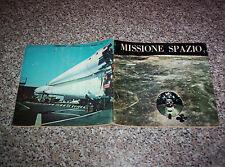 ALBUM MISSIONE SPAZIO ED.BIEFFE 1969 Q.COMPLETO(-36 FIGURINE) OTTIMO NO PANINI