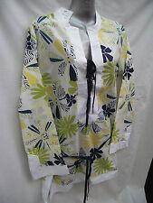 BNWT Womens Sz 12 Undercoverwear Pretty Print Cotton Kaftan Summer/Beach Top
