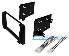 2009-2010 MATRIX DOUBLE 2 DIN CAR STEREO DASH INSTALLATION KIT W/ WIRING HARNESS